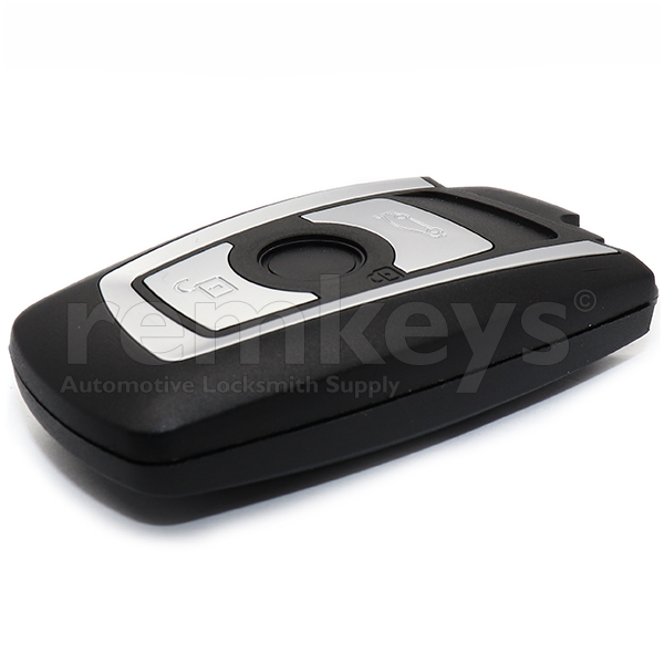 Bmw F Series Smart Remote Case 3Btn - SILVER