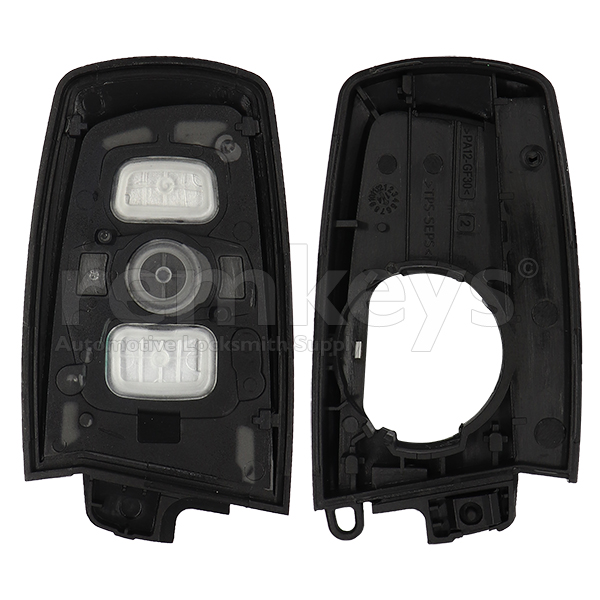 Bmw F Series Smart Remote Case 3Btn - SILVER