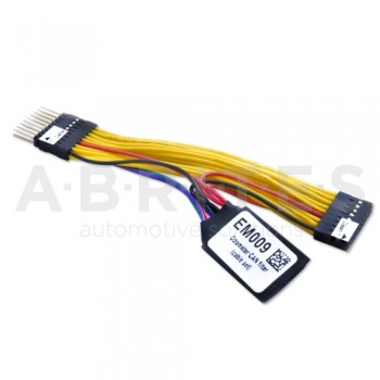 EM009 - Mercedes Odometer correction emulator with jumper cable for dash for W204/W212 (FBS3/FBS4)