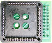 Adapter MC68HC11F1 PLCC68