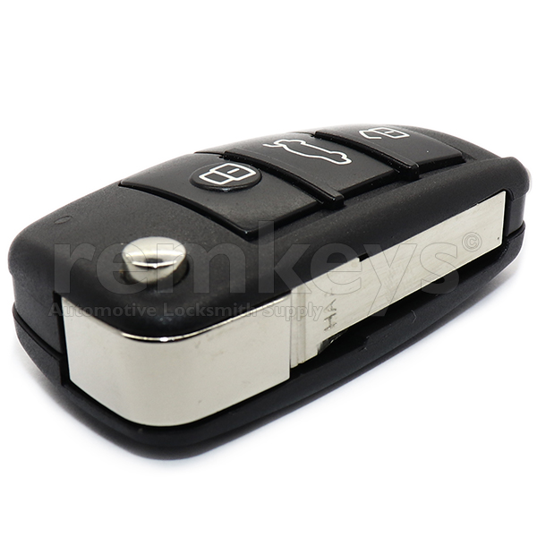 Audi 3 Button Flip Remote Case
