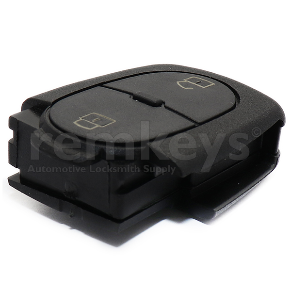 Audi 2Btn Remote Case (Round) - Small Battery