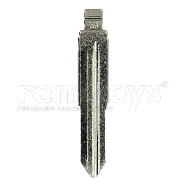 Chevrolet/Daewoo Keydiy DWO4R Flip Keyblade - Blade39