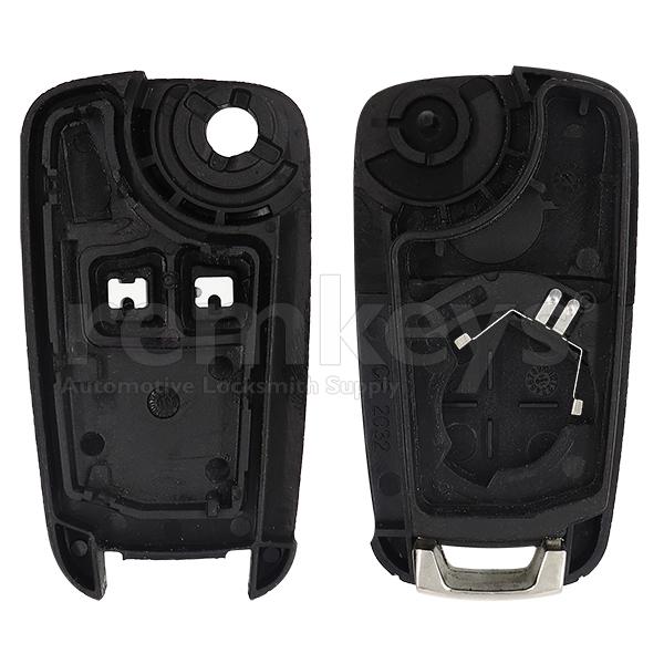 Cruze 2 Button Flip Remote Case