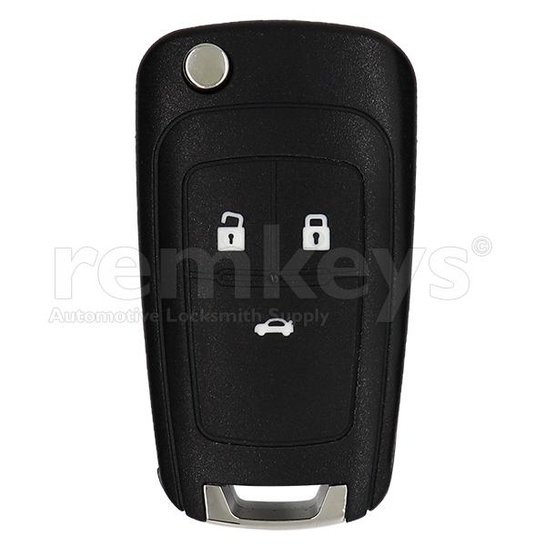 Cruze 3 Button Flip Remote Case