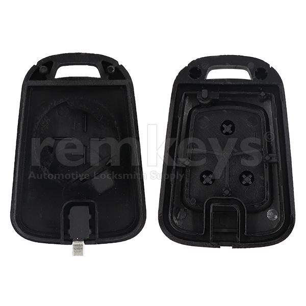 Cruze 3 Button non-Flip Remote Case