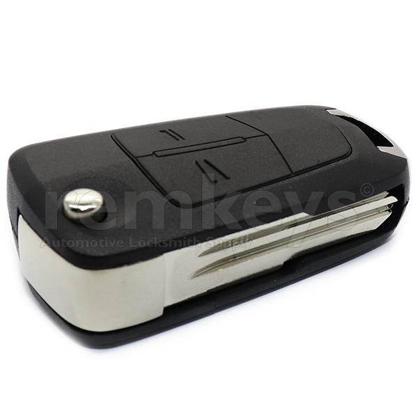 Chevrolet Captiva 2Btn Flip Remote Case