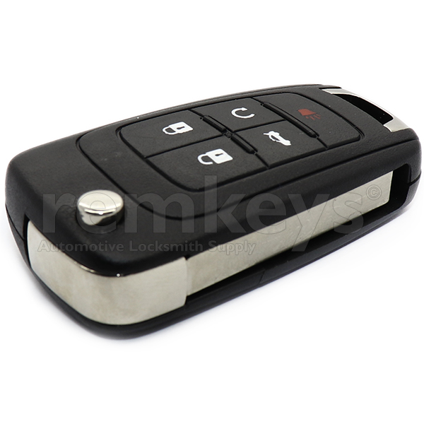 Chevrolet 5 Button Flip Remote Case