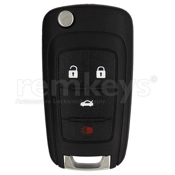 Chevrolet 4 Button Flip Remote Case