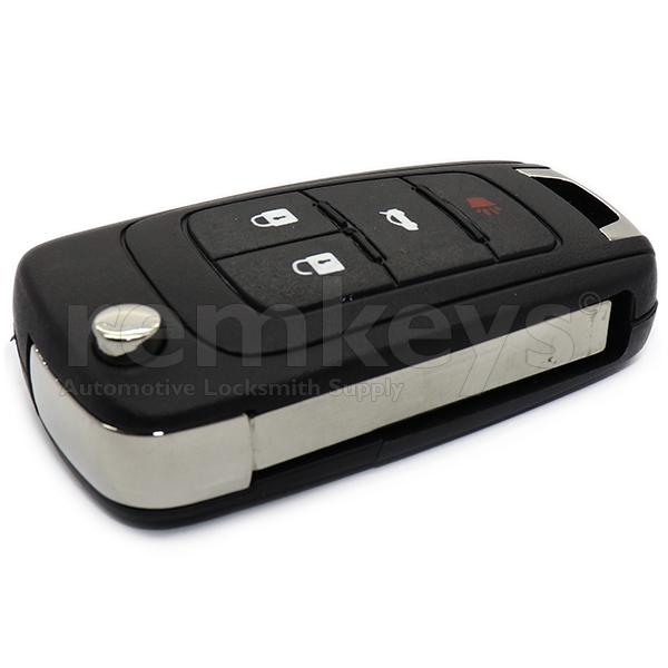 Chevrolet 4 Button Flip Remote Case