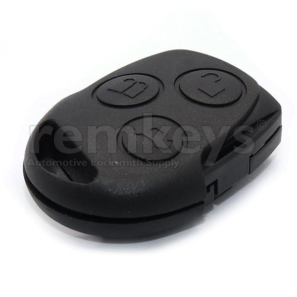 Ford 3Btn Black Remote Head 4d636f 433mhz OEM