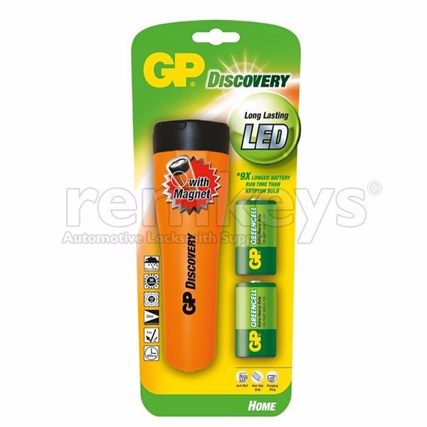 GP Discovery LED Flashlight - LHE411A