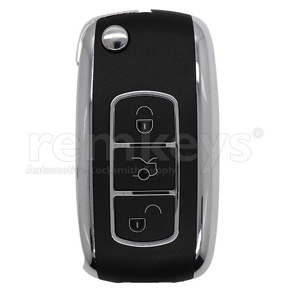 B07 - Bentley Type 3 Button Flip