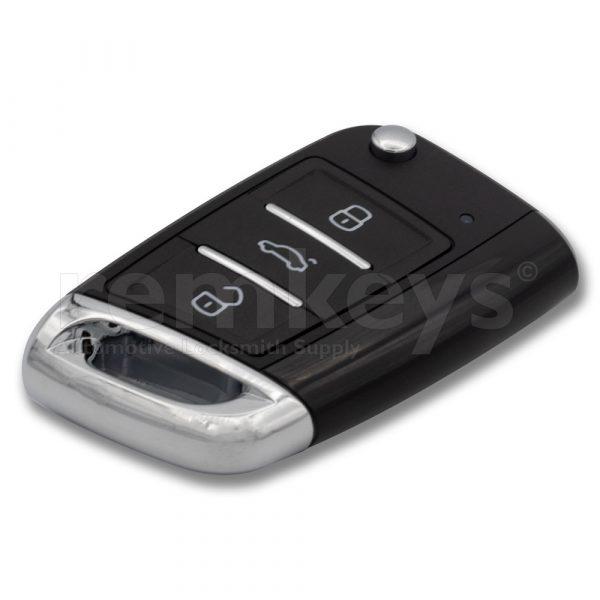 ZB15 - VW MQB Type 3Btn Smart Flip Keydiy Remote