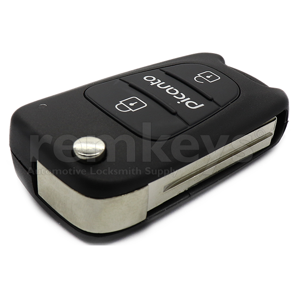 Picanto 3 Button Flip Remote Case