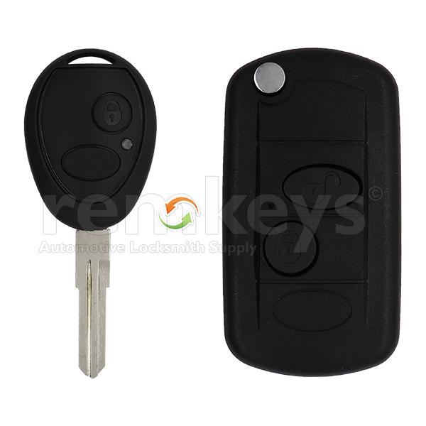 Discovery 2 Button Conversion Case