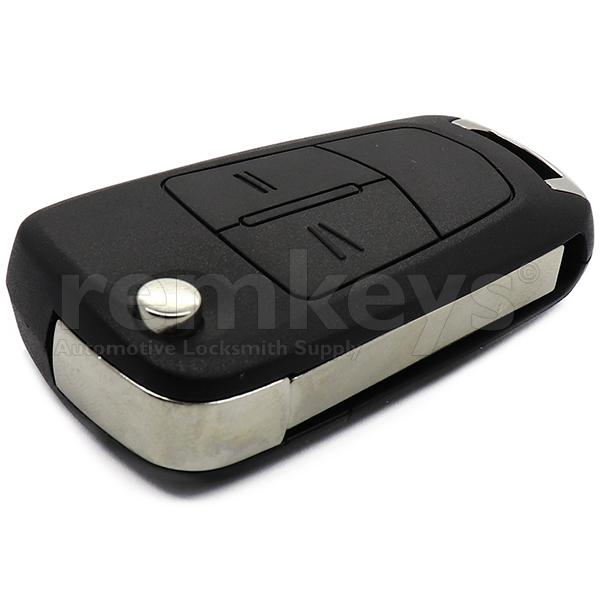 Astra H 2 Button Flip Remote Case