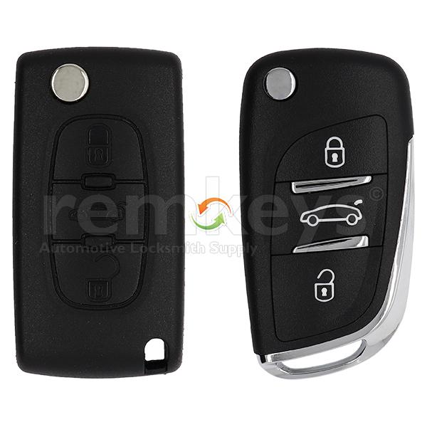 Peugeot New Type 3Btn Conversion Case