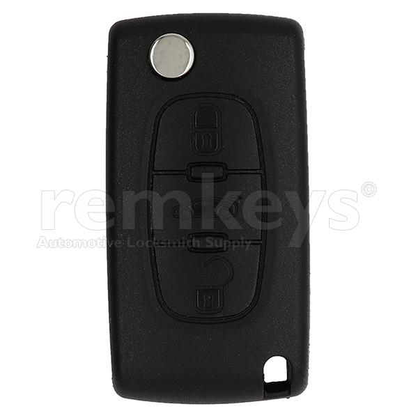 PSA 3 Button Flip Remote Case