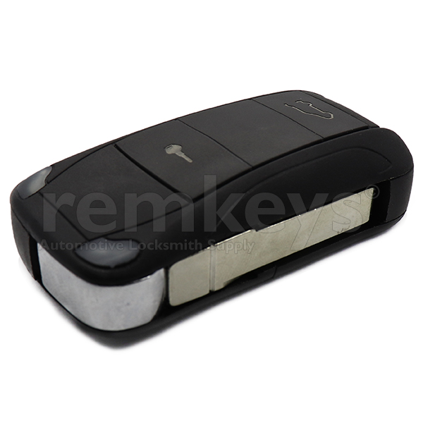 Porsche 2 Button Flip Remote Case