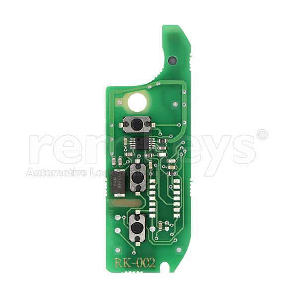 RB002 - Fiat 3Btn Flip 433mhz Delphi Repairment Board