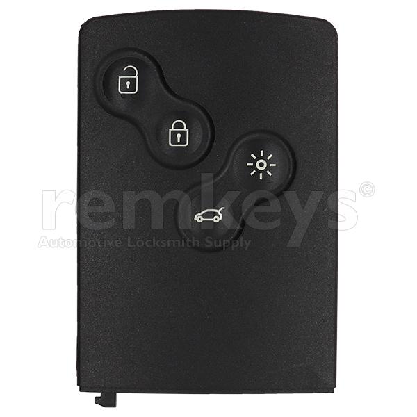 Megane3/Clio4 4 Button Smart Remote Case - NO LOGO