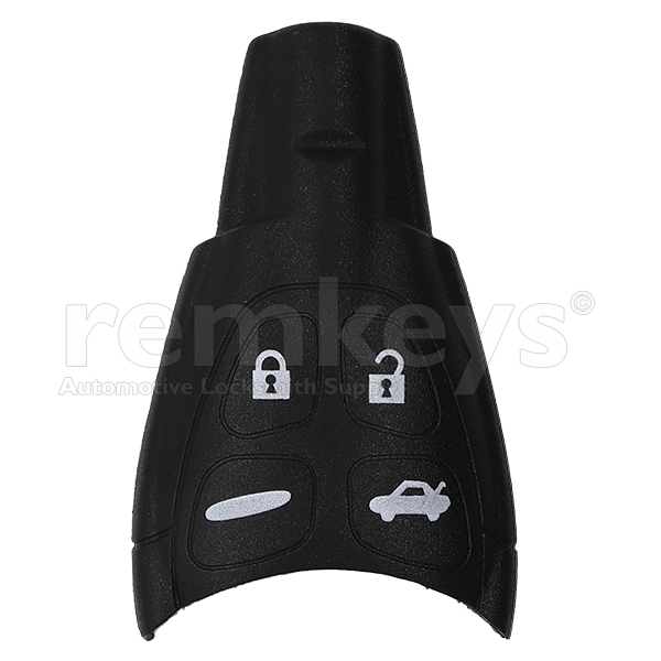 Saab 4 Button Smart Remote Case