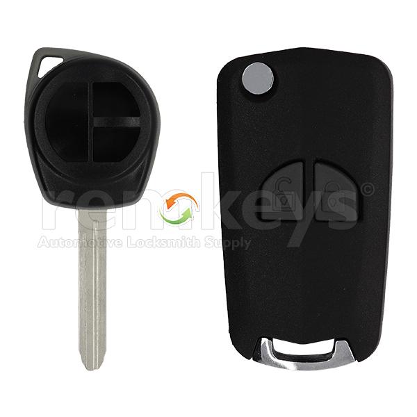 Suzuki 2 Button Conversion Remote Case