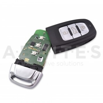 TA49 - ABRITES keyless key for Audi BCM2 vehicles (433 MHz)