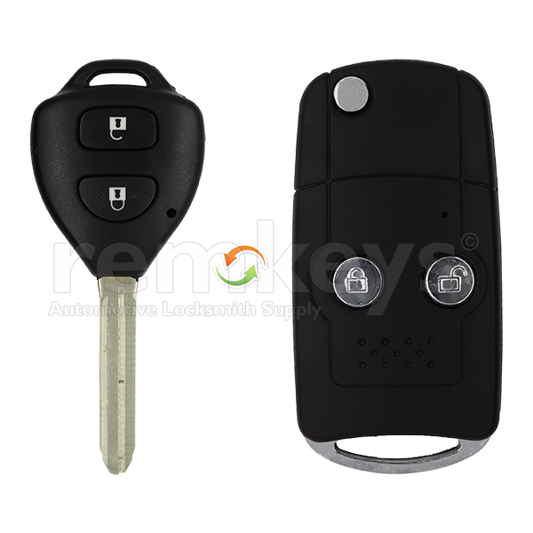Toyota 2 Button Conversion Remote Case