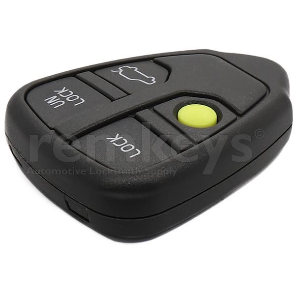 Volvo 4 Button Remote Case