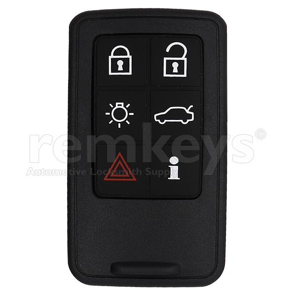 Volvo 6 Button Smart Remote Case