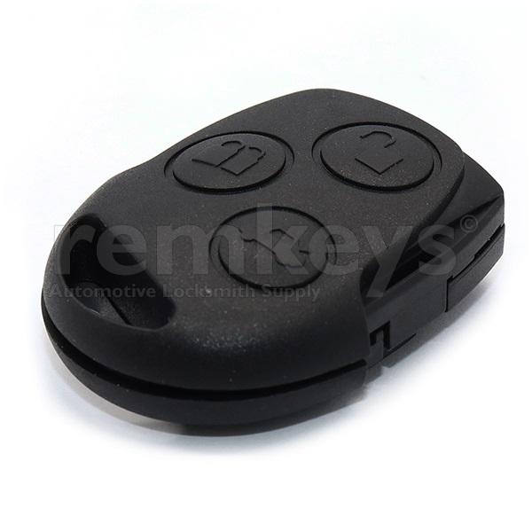 Ford 3Btn Remote Head 433mhz OEM - NO CHIP