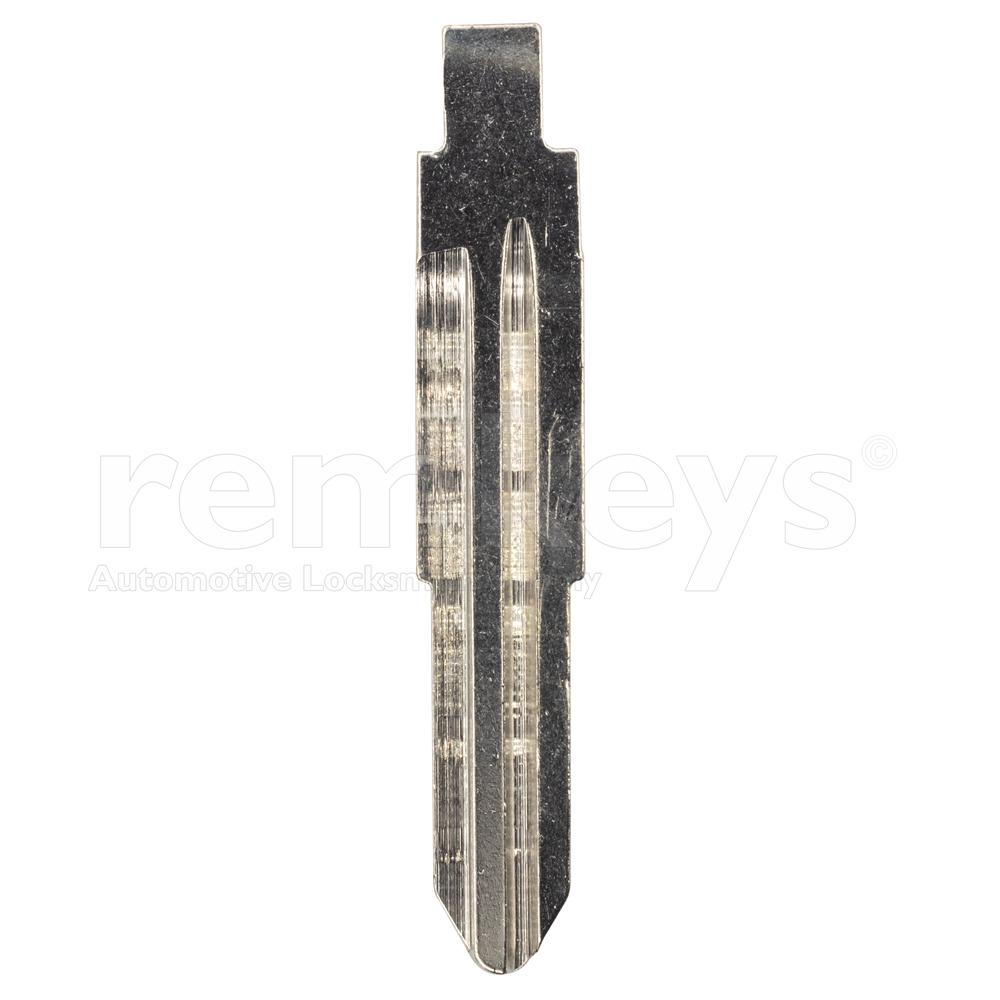 Hyundai HYN7 Thin Flip Remote Keyblade