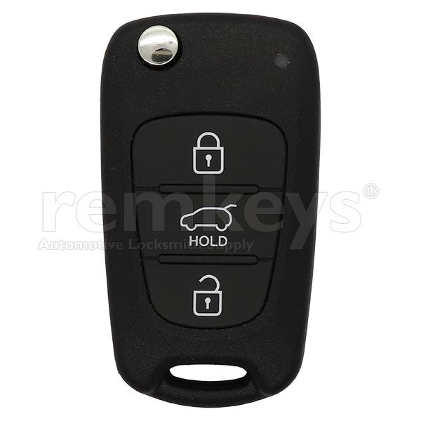 i30 3Btn Flip Remote 4d60 433mhz 2012+ OEM 95430-A5101