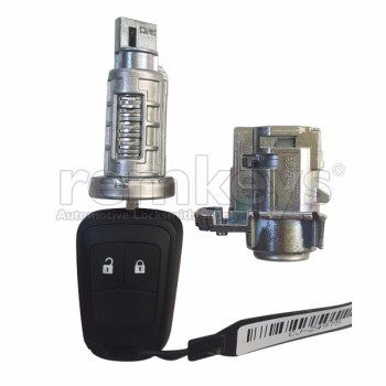 Astra J Lock Set with Remote Key 13375893 OEM