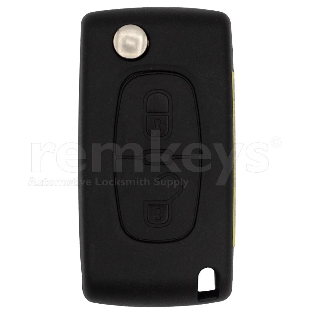 PSA 2 Button Flip Remote Case Oem