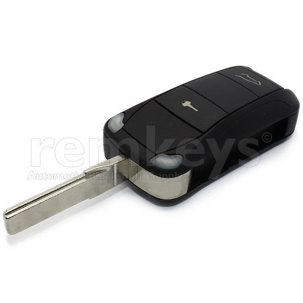 Porsche Cayenne 2Btn Flip Remote Pcf7946 433mhz