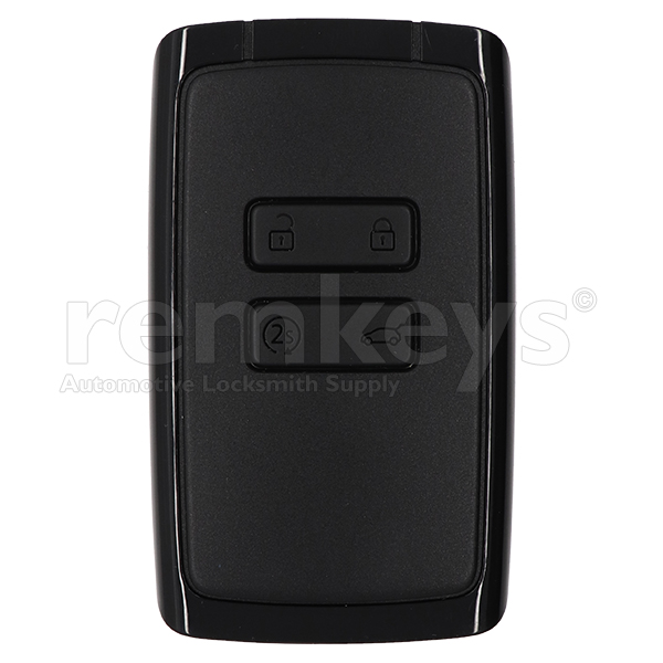 New Megane4 Hitag AES 433mhz OEM - Black and 2S Button