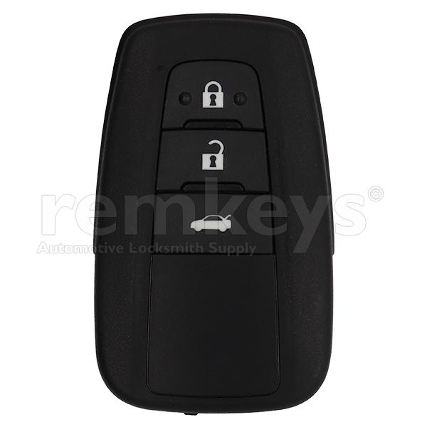 New Corolla 3Btn Smart 433mhz BT2EW OEM